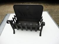 LOVELY WROUGHT IRON FREE STANDING WOODBURNING FIREPLACE