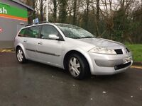 RENAULT MEGANE ESTATE 1.5DCI 2005 11 MONTHS MOT DRIVES NICE GOOD COND