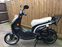 Peugeot Ludix 50cc 2009 scooter moped 12 months mot