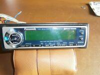 PANASONIC Car radio and CD loader