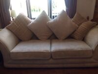 2 x DFS 4 Seater Beige Sofas For Sale - £200 For Both - Collection Only