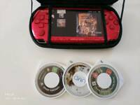 PSP red edition 64 gigas