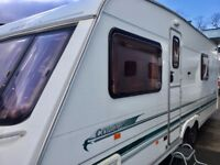2001 Swift Conqueror 630 T/A (Fixed Bed, Full End Washroom)