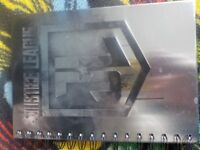 50p - Brand New - Hard Back Justice League Notebook - Collect PE27
