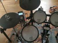 Roland TD9-KX drum kit upgraded