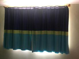 Blackout Curtains and light shade