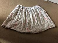 Cath Kidston News Print Skirt