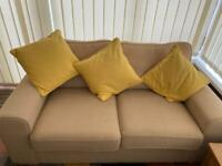 2 seater Sofa and Chair ( DFS smudge )