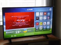 """43"""" ULTRA HD 4K SMART LED TV, NETFLIX, YOUTUBE, FREEVIEW PLAY ETC WITH WARRANTY"""