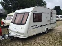 2 BERTH LIGHTWEIGHT 2003 COMPASS CORONA WITH END BATHROOM AND AWNING WE CAN DELIVER PLZ VIEW