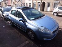FIAT GRANDE PUNTO DYNAMIC MULTIJET 1.3 90BHP DIESEL CHEAP CAR AND INSURANCE VERY GOOD CONDITION
