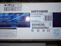 BLUE RAY DVD PLAYER . PHILIPS BRAND NEW. UNOPENED BOX