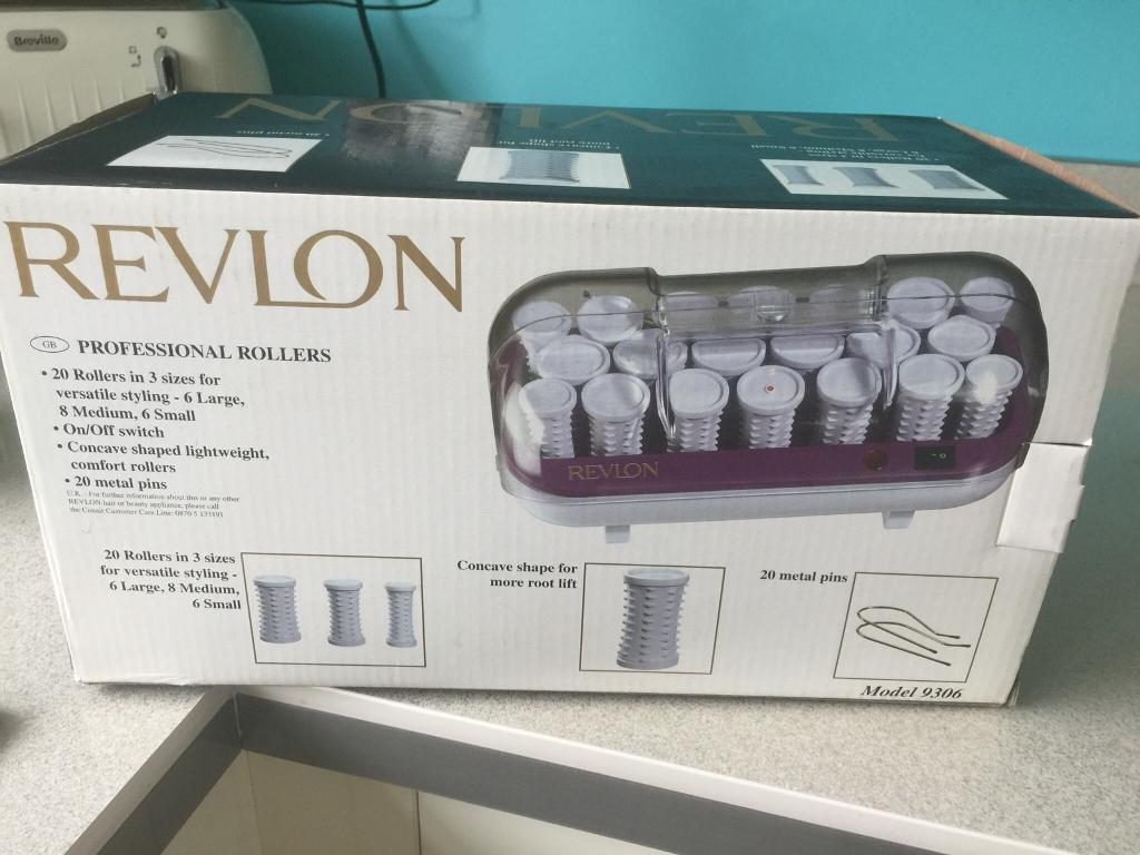 Revlon electric rollers