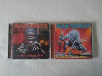 Iron Maiden - A real live one and a real dead one cds
