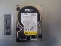 "Western Digital 2TB 3.5"" WD2002FYPS SATA 7200RPM Desktop Hard Drive"