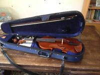 Viola - Full sized, second hand. Good condition, with bow and case.