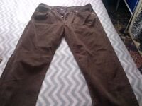 Men's Levis Jeans, Size W34 L34