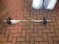 YORK WEIGHTS AND BAR