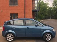 AUDI A2 2003 1.6 PETROL ** 1 OWNER FROM NEW **LOW MILEAGE **12 MONTH MO **NEW TYRES **VERY CLEAN CAR