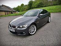 2007 NEW SHAPE BMW 325I M SPORT...MINT CAR...3 OWNERS...FSH...FULL MOT(NO ADVISORY)