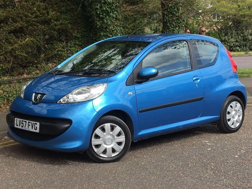 2007 peugeot 107 urban, 1.0 engine, 3 doors, one owner from new