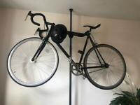 Fixie bike and stand/storage