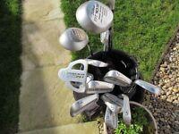 Titleist Golf Clubs and Nicklaus Golf Bag