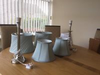 Beautiful lamp & Shades for sale