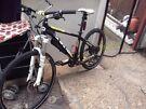 BOARDMAN sport hybrid road bike hydraulic disc brakes lock forks light weight bargain
