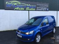 2014 VW CADDY HIGHLINE 2.0 6SPEED 140BHP 1 OWNER*FINANCE AVAILABLE*