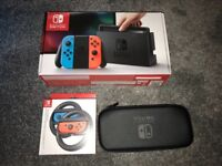 Ninentdo Switch + controllers