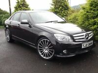 08 MERCEDES C200 CDI SPORT NEW C63 ALLOYS *1 OWNER FROM NEW* CHEAP TAX LIKE 320D C220 A4 A3 520D A6