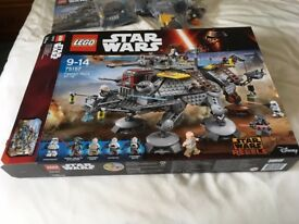 LEGO 75157 Star Wars Captain Rex's AT-TE Set (Used)