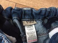 2 pairs Girls jeans aged 8/9