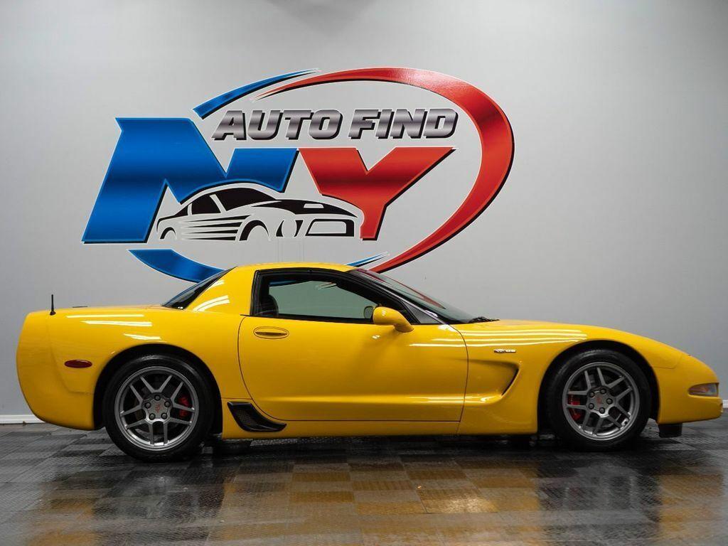 2001 Yellow Chevrolet Corvette Z06    C5 Corvette Photo 7