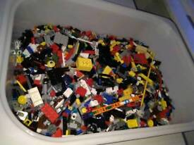 Lego bundle of small specials, figures, tools & weapons
