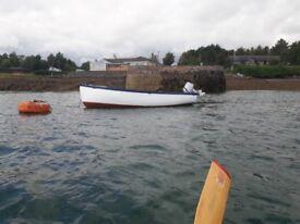 18ft open fishing boat
