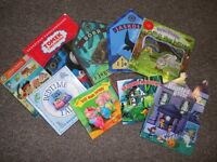 Mix of polish and english books for children