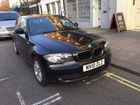 QUICK SALE / BARGAIN / 2010 BMW 118D DIESEL BLACK