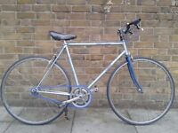 Vintage Single Speed Bicycle. Blue and Grey Chimo Racing Frame. Quite unique