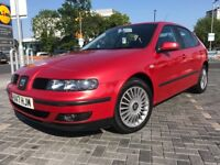 2001 Seat Leon Cupra 1.8T 220 BHP Remapped Beautiful Example Rare Colour 6 Speed Manual 137K FSH