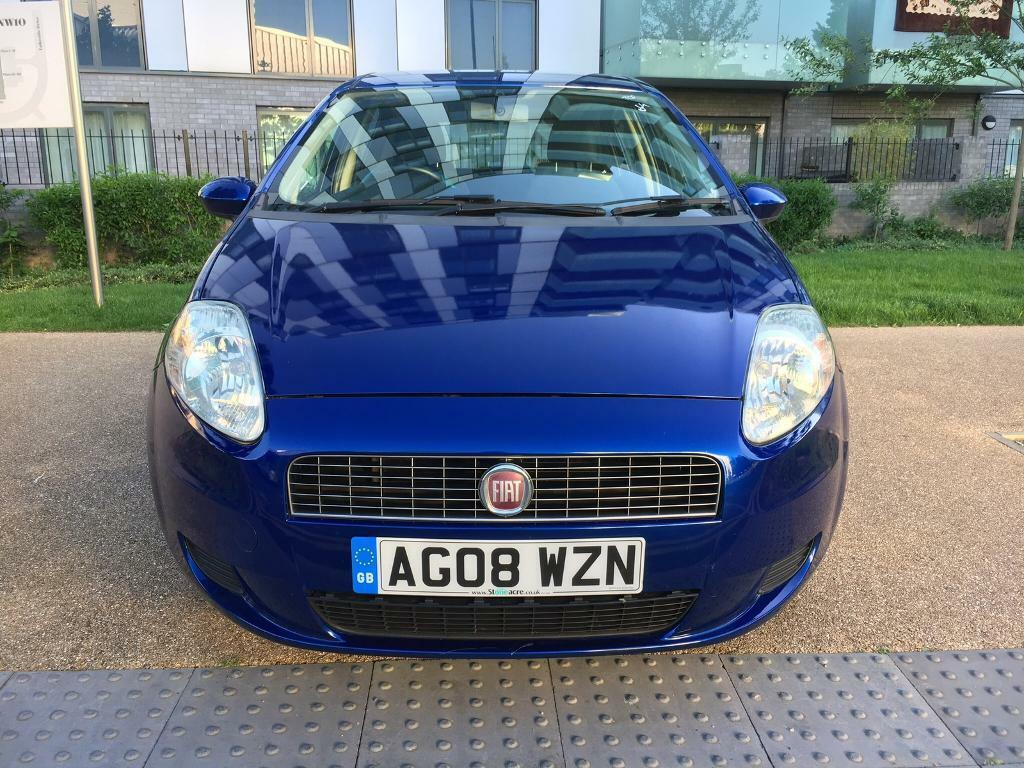 Fiat punto 1.2L 2008 manual 5 dr alloys central locking