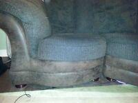 Large snuggle sofa slight corner