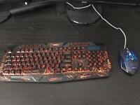 Aires Gaming Keyboard and Mouse