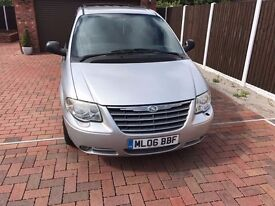 chrysler grand voyager limited edtion , top spec 2.8l diesil , 7 seater