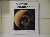 """SCIENTIFIC AMERICAN"" MAGAZINE, SEPT 1983: FEATURE ISSUE: ""THE DYNAMIC EARTH"" **REDUCED ! ! **"