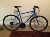 """Trek 7.2FX 2016 20"""" Hybrid Bike for Sale. Ridden maybe 4-5 times. Immaculate condition. £260"""