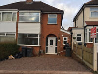 3 bed house, Perry Barr, fully refurbished, close to amenities and public services