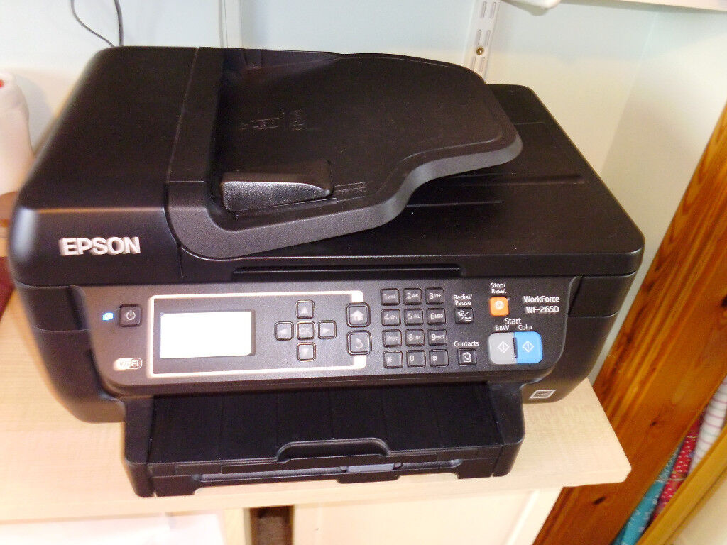 Epson WF 2650 Printer for sal;e.