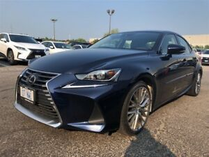 2017 Lexus IS 300 LUXURY PACKAGE